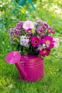 Blumenstrauß in Rosa