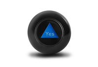 Magic ball with prediction Yes