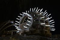 salt mine wood pavilion