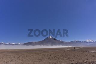 Altiplano Lakes, White lake, Bolivia, South America