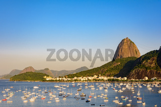 Sugar loaf and Botafogo cove