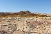 Breathtaking landscape of the desert