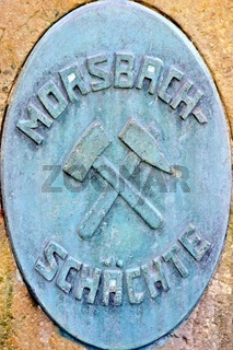 Morsbach-Stein auf der ehemaligen Zeche Westfalen Ahlen Deutschland