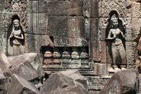Tempelanlage um Angkor Wat