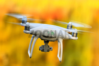 fliegender Quadrocopter