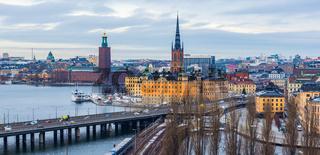 Stockholm Skyline Panorama