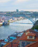 Dom Luis bridge. Porto, Portugal