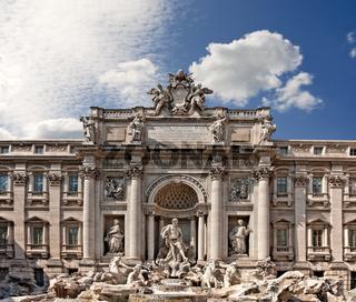 Rome - Fontana di Trevi
