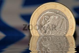 Griechischer Euro versinkt