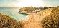 Benagil Beach in Algarve
