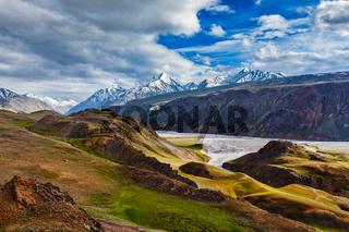 HImalayan landscape in Himalayas, Himachal Pradesh, India
