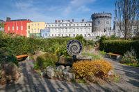Dublin Castle from Dubh Linn Gardens