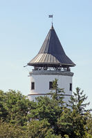 Turm der Burgruine  Hohenbodman