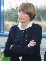 Elke Büdenbender, Ehefrau von Bundespräsident Dr. Frank-Walter Steinmeier beim Antrittsbesuch am 14.02.2018  in Wolmirstedt