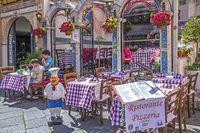 Pizza Restaurant Taormina, Italy