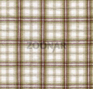 Close-up of a brown checked cloth
