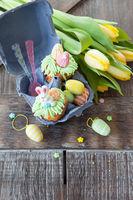 Kleiner Cupcake zu Ostern