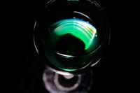 Grünes im Glas