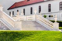 Große Treppe im Schlosshof von Bratislava (Pressburg)