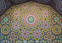 Traditional maroccan pattern background