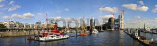 Hamburger Hafen Panorama