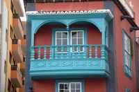 Balkon an einem Haus in Santa Cruz de La Palma