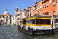 Anlegestelle San Marcuola am Canal Grande, Venedig