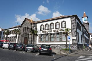 Telekomgebäude in Ponta Delgada