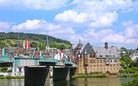 Stadtbild von Traben-Trarbach an der Mosel