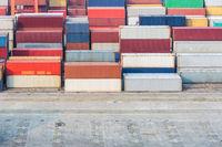 container depot closeup