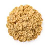 Dry organic multigrain flakes