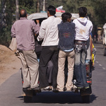Indisches Dreiradtaxi, Nordindien, Indien, Asien - indian Taxi, North India, India, Asia