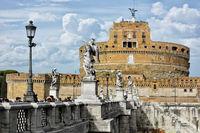 Die Engelsburg in Rom