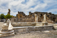 The Baths Of Hadrian, Aphrodisias, Anatolia, Turkey