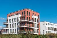 Moderner Wohnungsbau in Berlin