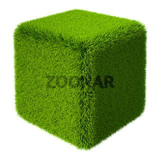 Grass Cube 3D