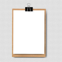 Realistic Clipboard Isolated
