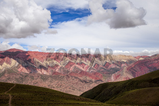 Serranias del Hornocal, colored mountains, Argentina