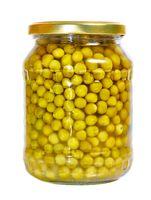 Peas in a jar