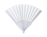 White open blank fan