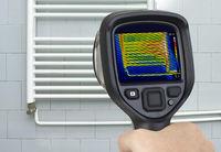Radiator Infrared Measuring