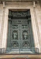 Esterior doors of St Isaac's Cathedral Russia