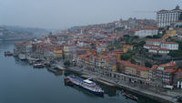 Dawn over the Douro river, Porto, Portugal