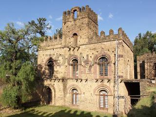 Palastruinen von Gondar, Äthiopien, Afrika