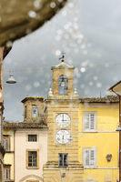 Clock tower in San Severnio
