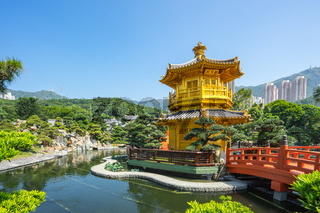 Nan lian garden landmark in Hong Kong city, Hong Kong