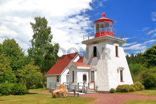 St. Martins tourist info center replica of old light house