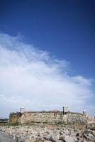 castelo do queijo fort landmark on porto coast portugal