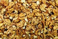 dry walnuts texture