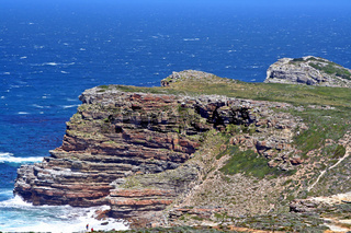Kap der guten Hoffnung, Blick vom Cape Point aus, Südafrika